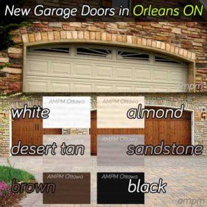 New garage door installation service in Orleans Ontario