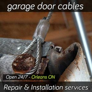 Garage door cable repair services in Orleans ON